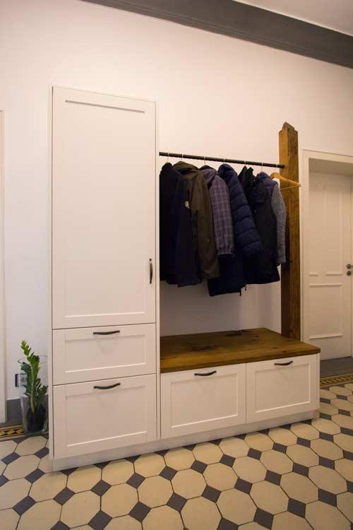 garderobe schreinerei m bel innenausbau in buchen schreinerei h fner. Black Bedroom Furniture Sets. Home Design Ideas
