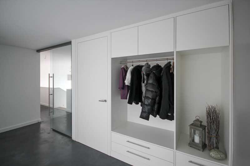 Garderobe schreinerei m bel innenausbau in buchen for Garderobe vom schreiner